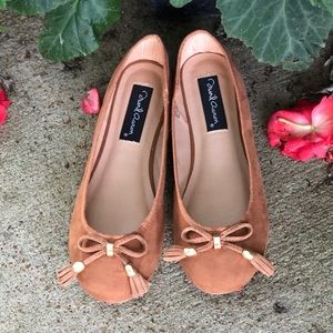 """Shoes - Size 7.5"""" David Aaron Suede Flats"""